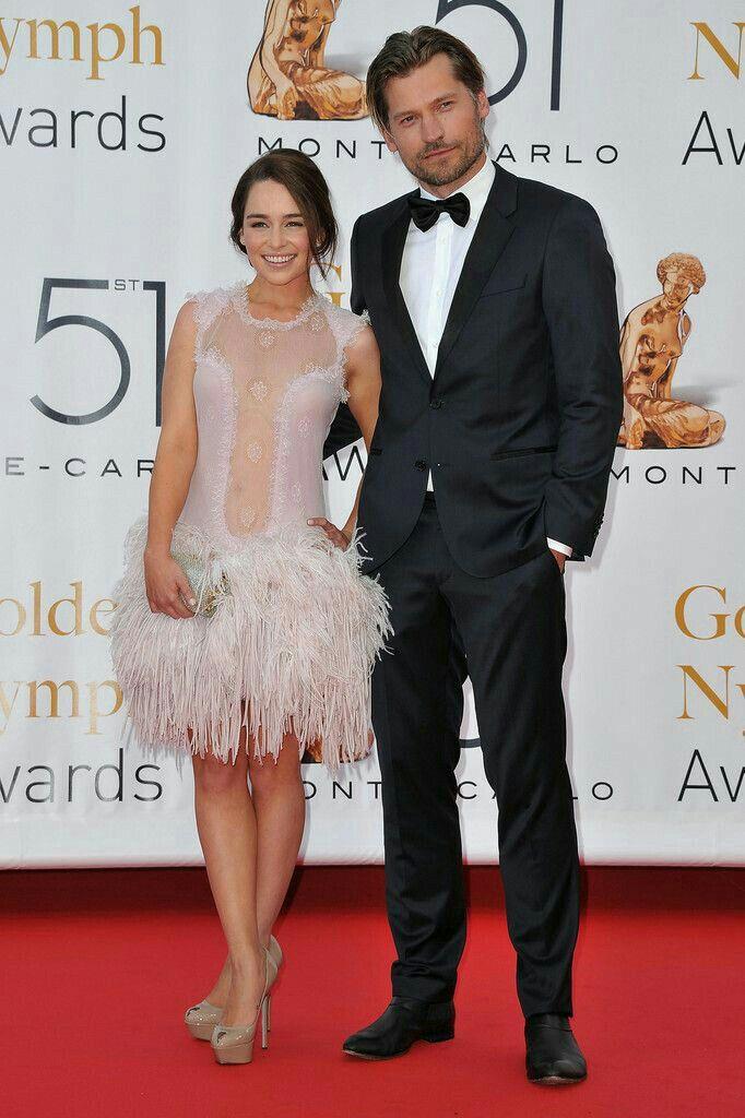Emilia Clarke & Nikolaj Coster-Waldau