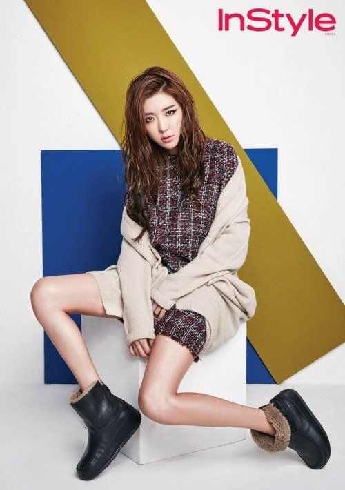 Park Han Byul's fashionable shoot with 'InStyle' unveiled! | http://www.allkpop.com/article/2015/10/park-han-byuls-fashionable-shoot-with-instyle-unveiled