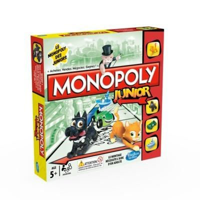Monopoly Junior de Hasbro Réf : A6984 moins cher en ligne. Age : 5 ans  Comparez son prix chez 6 vendeurs en ligne .