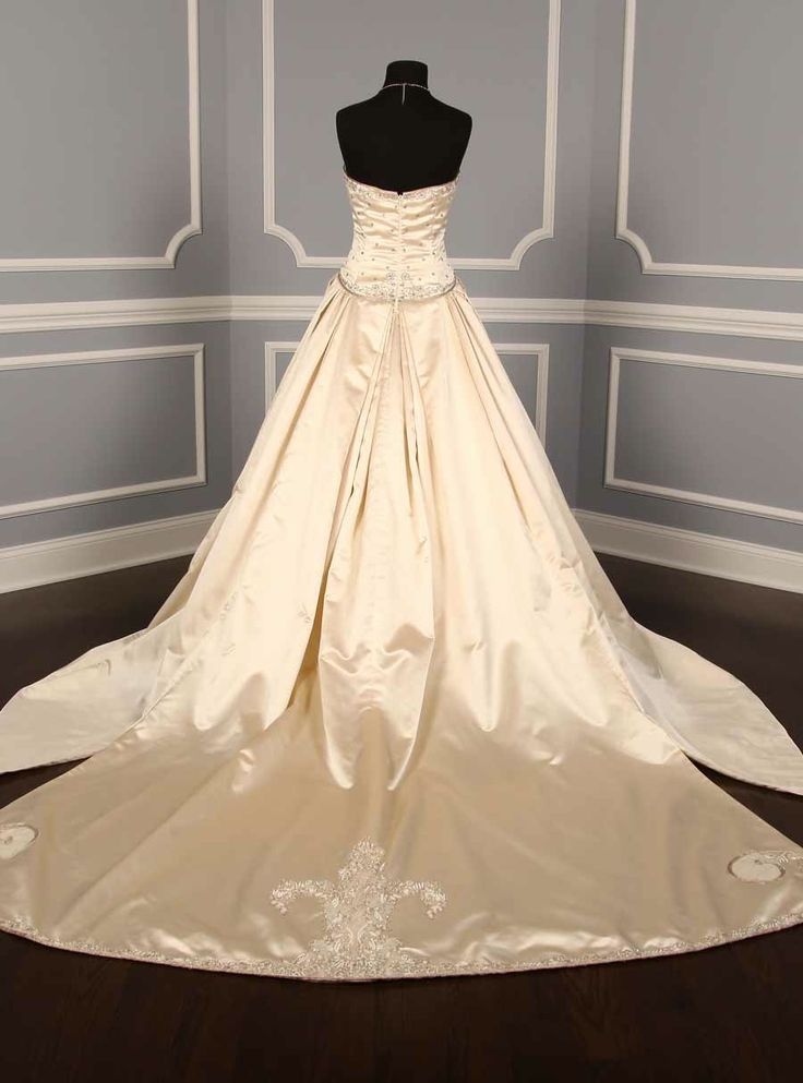 Kenneth Pool for Amsale Couture Wedding Gowns Discount Designer Bridal Dress