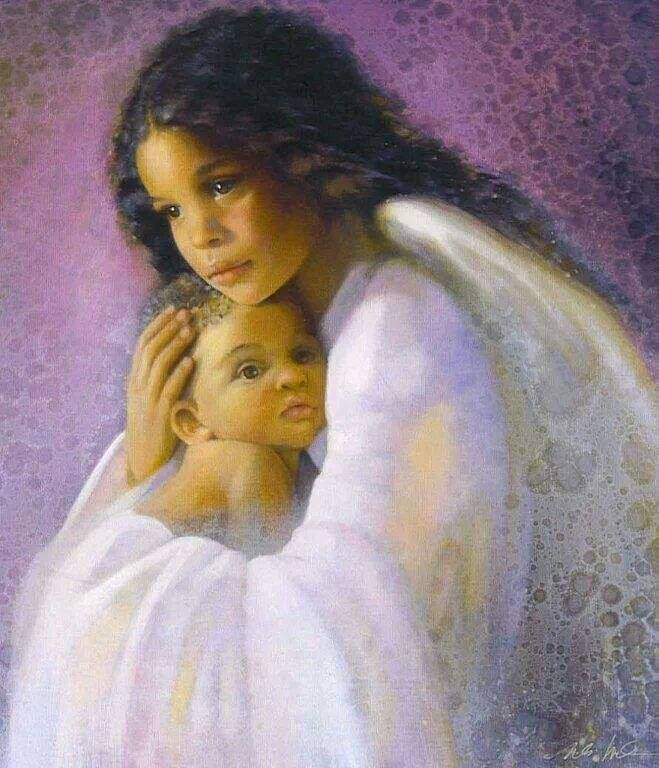 58 Best Images About African American Angels On Pinterest