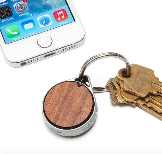 For the chronic key-loser: a pretty rosewood bluetooth keychain.
