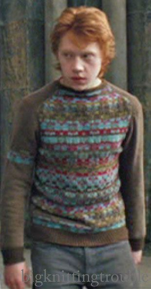 I really want Ron's Prisoner of Azkaban sweater