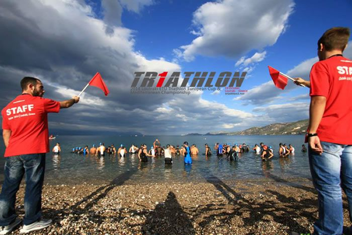 Triathlon1 begins!! #triathlon #start