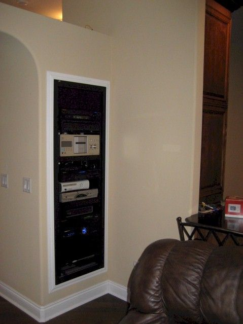 Home Audio   Video   Automation Equipment Rack. 24 best basement images on Pinterest   Basements  Basement and