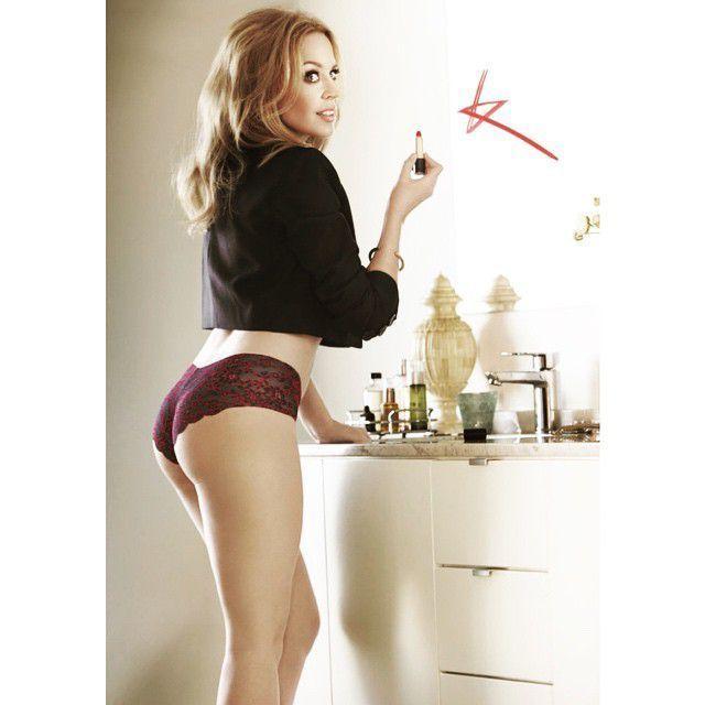 "Kylie Minogue - ""Sloggi"" Lingerie Photoshoot : Global Celebrtities (F) FunFunky.com"
