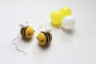 Diese niedliche Biene jetzt nach häkeln.     Anleitung Kostenlos  Deutsch  …