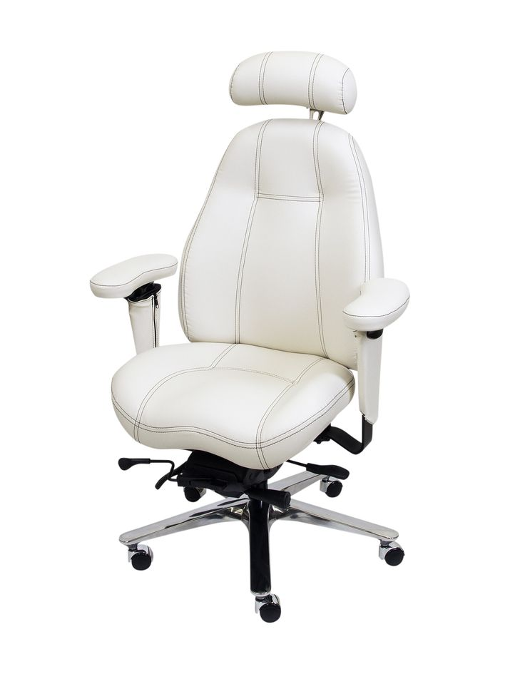 Thin Black Contrast Stitching on 2490 Mid Back Ultimate Executive Chair in Deer Run White Premium Leather.  Also includes Chrome Finish Latitude Head Rest and Silver Ultimate Upgrade Package with Chrome Hooded Soft Wheel Casters for Hard Wood Floors.