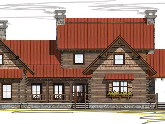 The 25 Best Ideas About Log Home Floor Plans On Pinterest