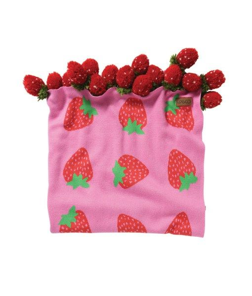 AW17 KIP&CO BERRYLICIOUS BABY BLANKET  