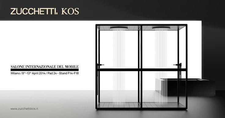 Zucchetti Kos new shower / Salone Internazionale del Mobile - Milano