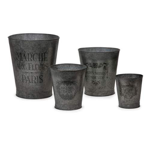 4-Pc Garden Pots -- To view further for this item, visit the image link.