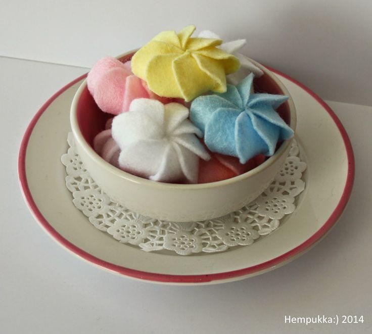 felt meringue