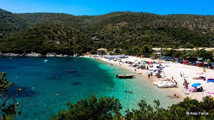 Poros Beach, Lefkada. Eerste vakantie samen met mijn vriendje :) (1995)