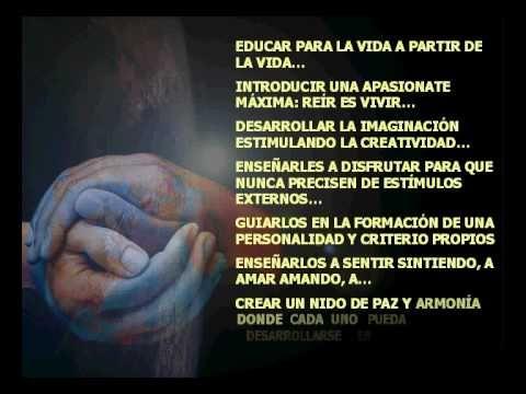 ▶ Presentación de la Escuela de la Alegría en las Jornadas de Educación Infantil de Linares - YouTube