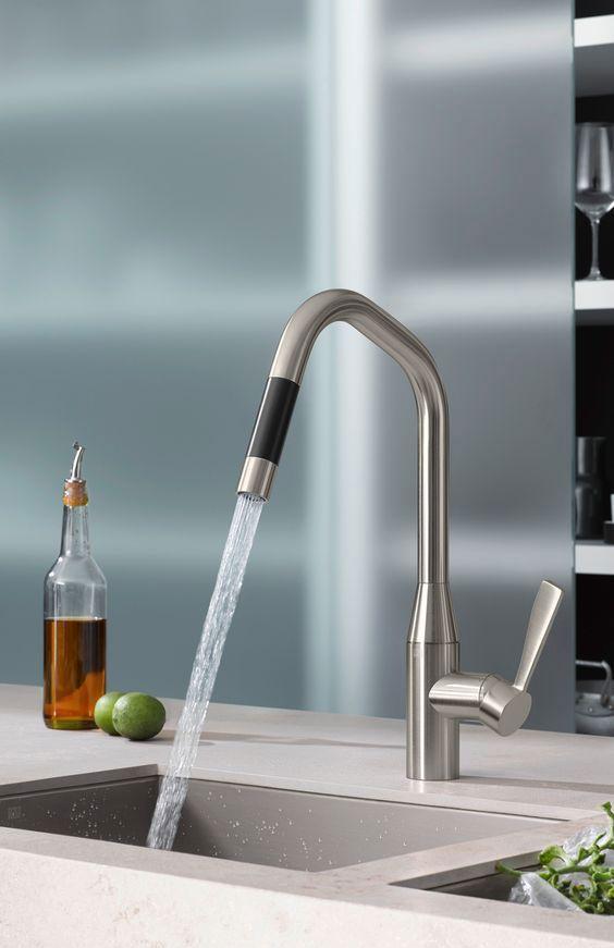 Torneira Gourmet: 60 Modelos, Dicas E Onde Comprar. Kitchen TapsFaucetBathroom  DesignsModelsTips