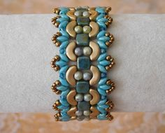 Beaded Bracelet Tutorial Beading Bracelet Pattern by poetryinbeads                                                                                                                                                                                 More