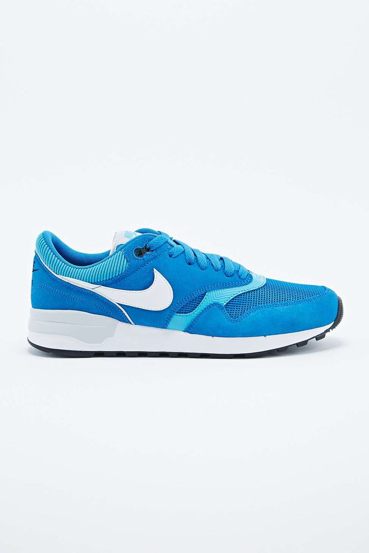 Nike Air Odyssey Suede Trainers in Blue