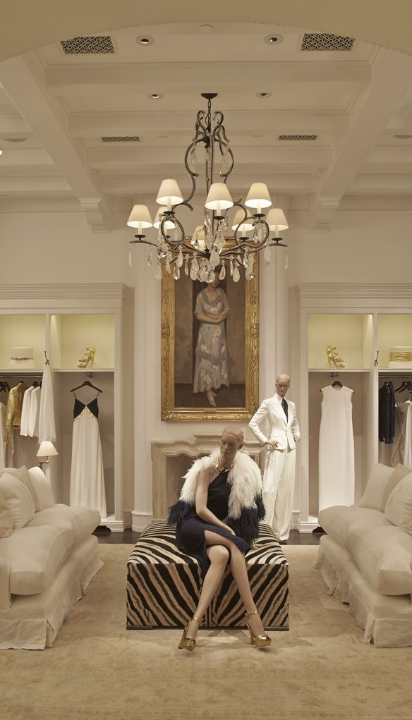 Ralph Lauren Store in São Paulo. I would love this as a closet, but I would loose most of my bedroom....