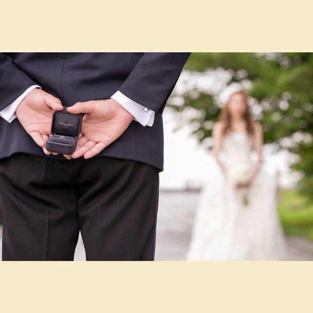 プロポーズ再現ショットは前撮りおすすめのポーズ! | marry[マリー]