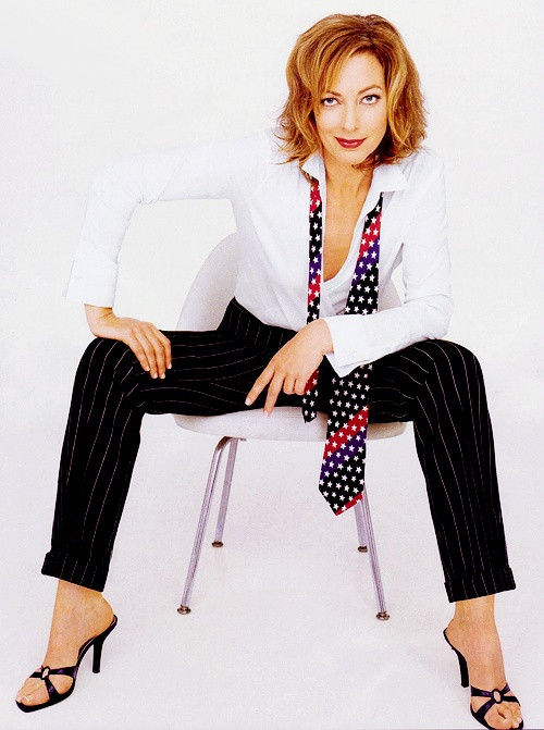 Allison Janney. Watch her in: 10 Things I Hate About You, The Hours, The West Wing, Hairspray, Juno, Lost, The Help