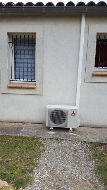Avis climatisation réversible #MITSUBISHI ELECTRIC - Ainceur Clim, Albi - www.eldotravo.fr