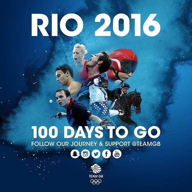 100 days to go to @rio2016 where Rugby Sevens will be making its Olympic debut. #GB7s #roadtorio
