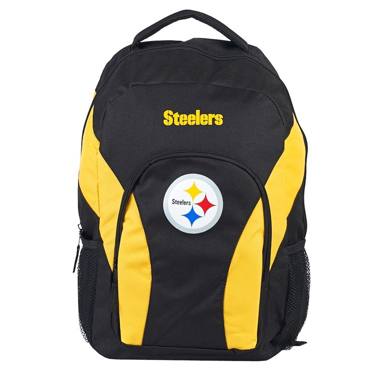Northwest Pittsburgh Steelers Draftday Backpack, Team https://www.fanprint.com/licenses/pittsburgh-steelers?ref=5750