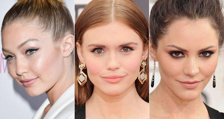 Дневной макияж знаменитостей