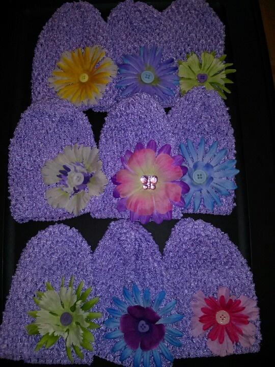 Light purple infant beanie www.facebook.com/babybandzbyjen