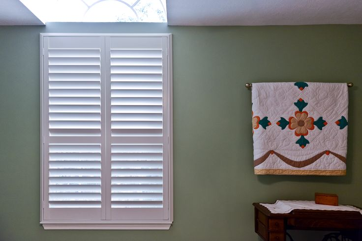 These shutters are classic and add just the right touch to any space. #classics #style #homedecor