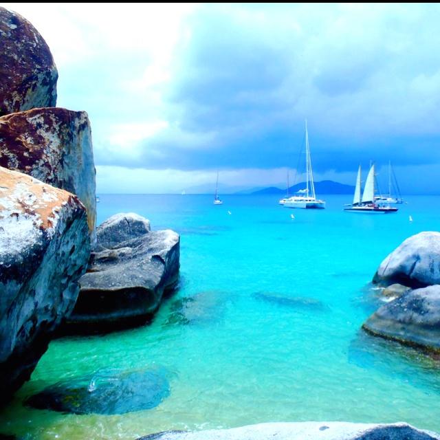 Heaven. Virgin Gorda, Virgin Islands
