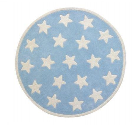 Blue Star Rug