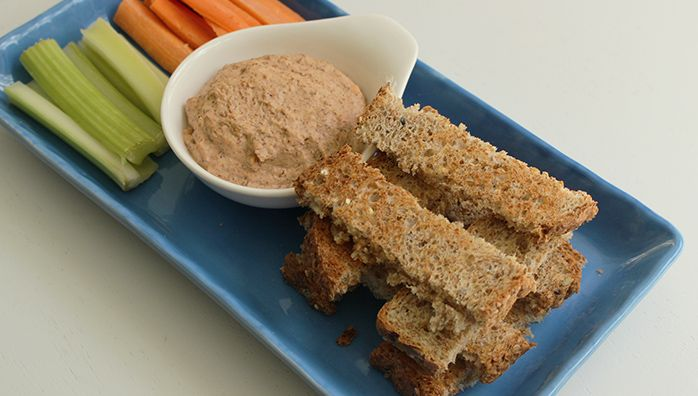 Sprouted Red Lentil Spread