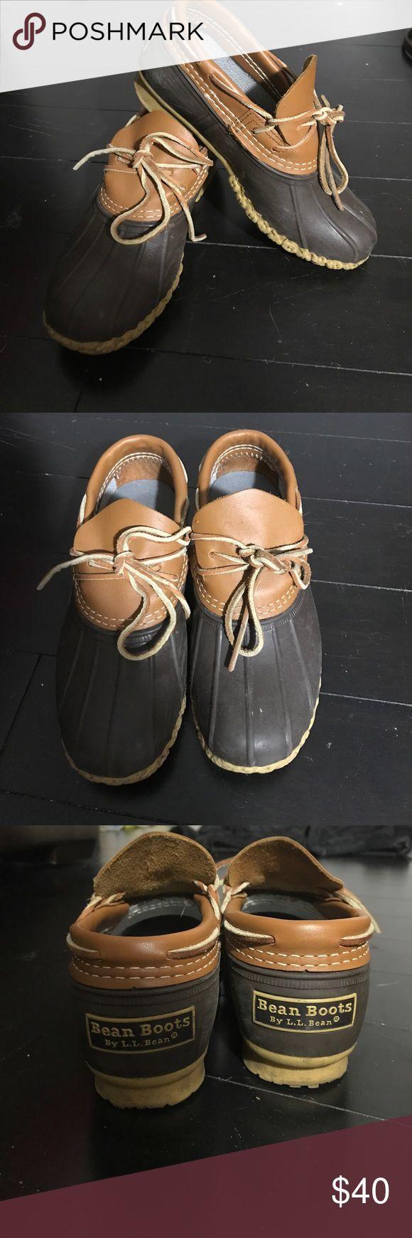 LL Bean rain booties LL Bean slip on rain booties, size 7.5 LL Bean Shoes Winter & Rain Boots