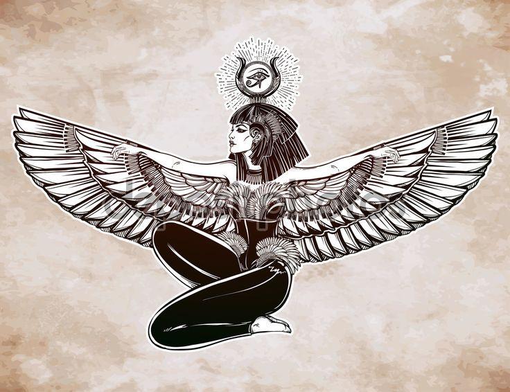 Картинки по запросу богиня исида арт