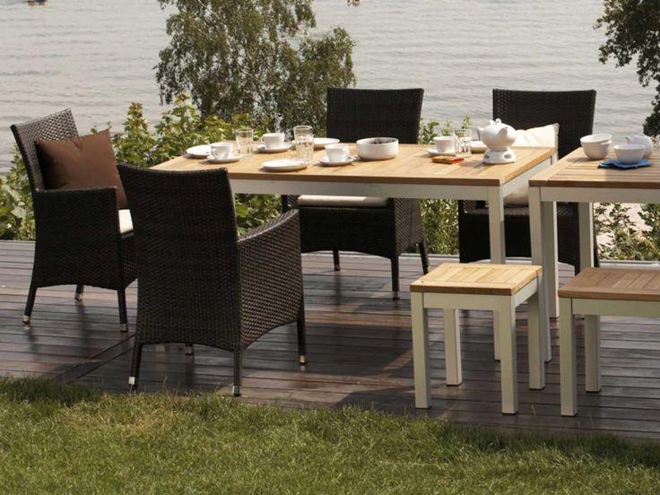 Die besten 25+ Gartenmöbel aus Aluminium Ideen auf Pinterest - gartenmobel alu holz