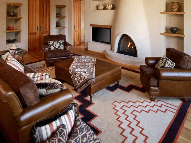 Southwestern style decorating ideas decorating with for Native american interior design