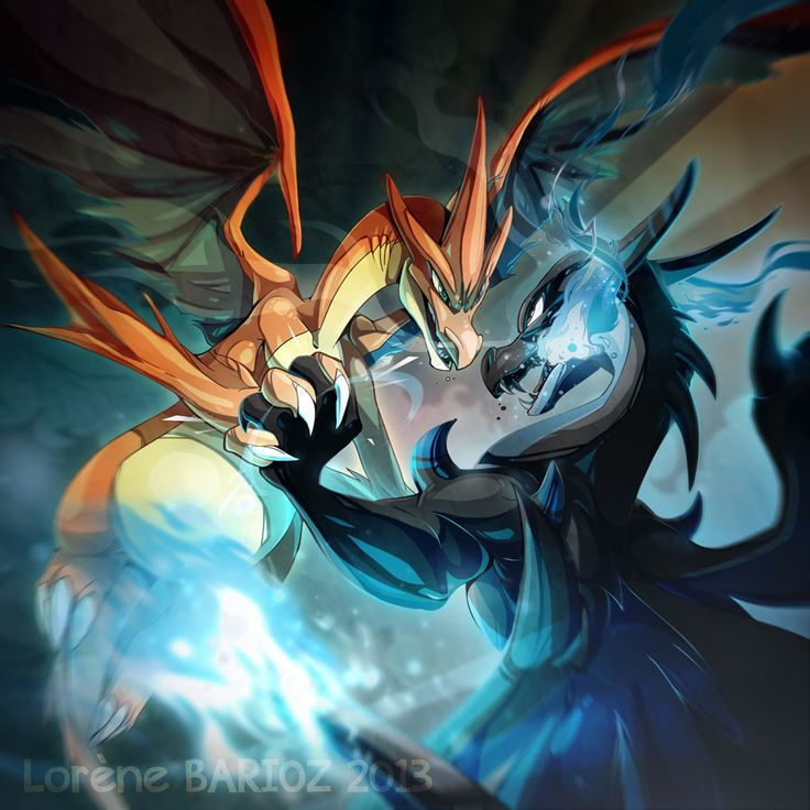 Mega Charizard X and Y by Dragibuz.deviantart.com on @deviantART