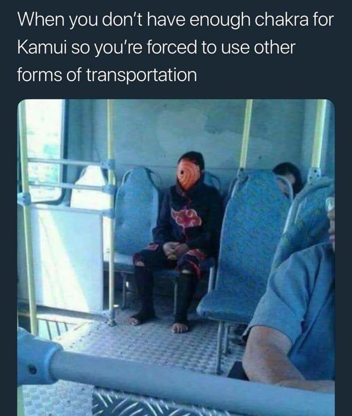 When You Run Out Of Chakra Funny Naruto Memes Naruto Naruto Funny