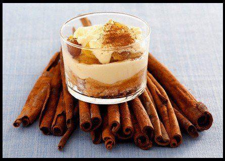 Recette Tiramisu à la pâte de spéculoos et aux pommes http://www.ilgustoitaliano.fr/recettes/i-love-tiramisu