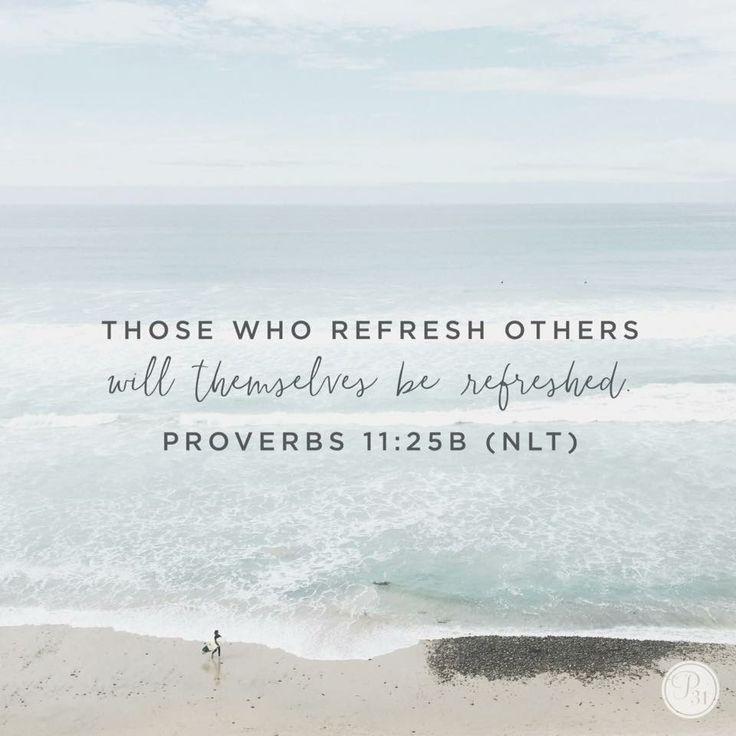 Proverbs 11:25