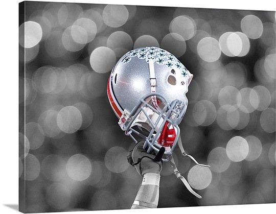 Image detail for -Ohio State Football Helmet Photo Canvas Print | Great Big Canvas