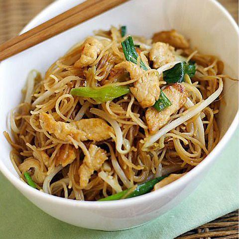 Тайская жареная лапша Пад мие: рецепты лапши в воке