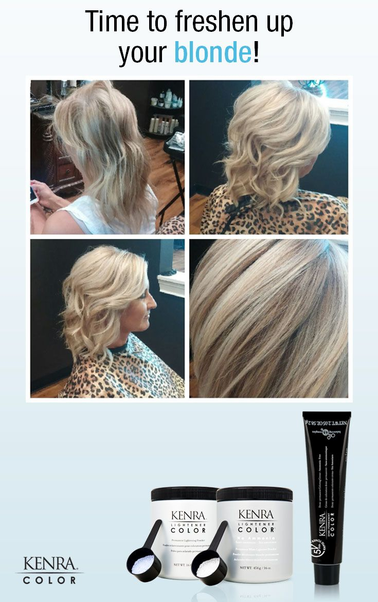 37 Best Kenra Toners Images On Pinterest Hair Color Haircolor