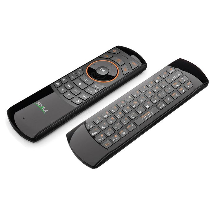 RKM MK705 2.4GHz 3 in 1 Wireless Fly Air Mouse QWERTY Keyboard IR Remote Combo for HTPC Smart TV PC Sale - Banggood.com