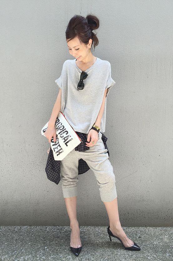 Drop crotch pant: do or don't?  L'Appartement DEUXIEME CLASSE コーディネート