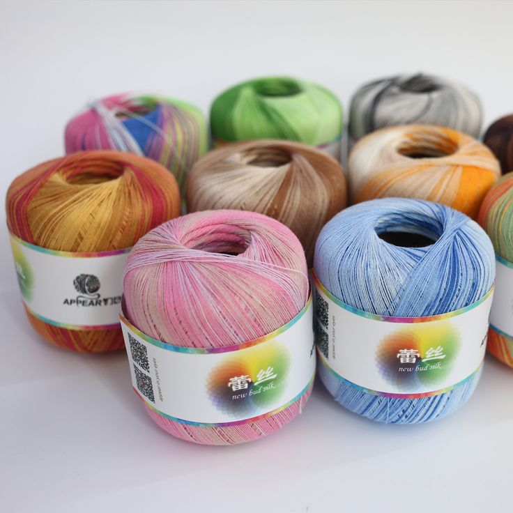 Cheap thread for crochet, Buy Quality threading thread directly from China color thread Suppliers: DESCRIPTION:Material: 91% cotton, 9% MetallicPackage including: approx.300g(+-20)/pack(6*50 g/ball)