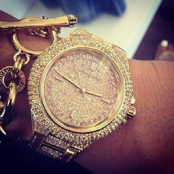 Michael Kors Watch | Juicy Couture Charm Bracelet