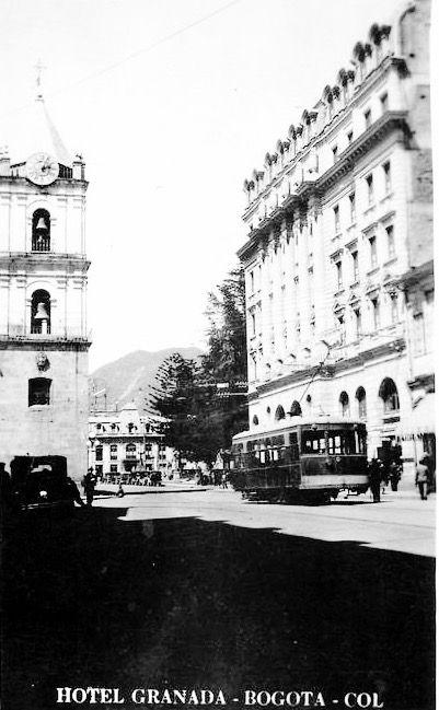 Zona Hotel Granada de Bogotá, años 40s